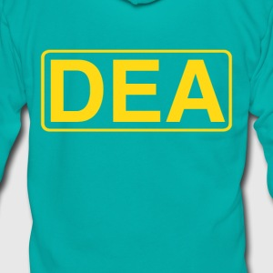 DEA T-shirt - Unisex Fleece Zip Hoodie by American Apparel