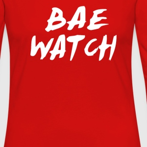 Bae Watch T-Shirts - Women's Premium Long Sleeve T-Shirt