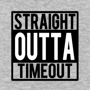 Straight Outta Timeout funny baby boy shirt  - Baseball T-Shirt