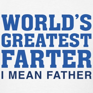 World's Greatest Farter - Men's T-Shirt