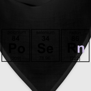 Chemistry, Poser Element T-Shirts - Bandana