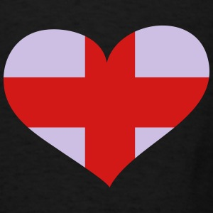 England Heart; Love England Sportswear - Men's T-Shirt