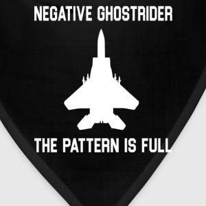 Negative Ghostrider The Pattern Is Full T-Shirts - Bandana