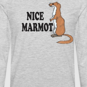 Nice Marmot - The Big Lebowski T-Shirts - Men's Premium Long Sleeve T-Shirt