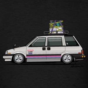 Nissan Prairie Stanza Multi Wagon 4WD Retro Gamer Long Sleeve Shirts - Men's T-Shirt