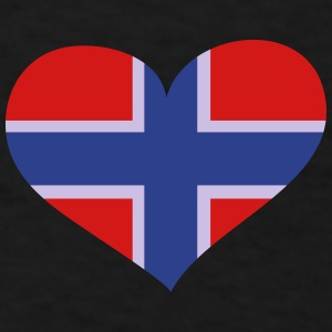 Norway Heart; Love Norway Sportswear - Men's T-Shirt