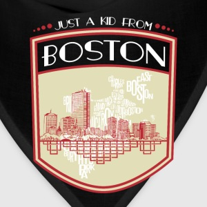 Kid from Boston - It's where my story begins - Bandana