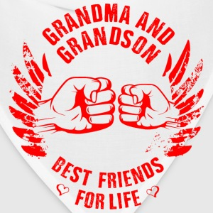 Grandma and Grandson T-Shirts - Bandana