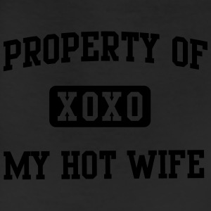 Property of my hot wife XOXO T-Shirts - Leggings