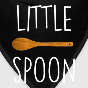 Funny Little Spoon Big Spoon T-shirt Couple Shirts T-Shirts - Bandana