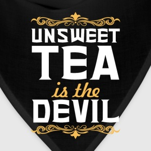 Unsweet Tea is the Devil Funny Graphic T-shirt T-Shirts - Bandana