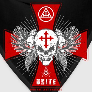 Knights Templar - Join The Last Crusade Infidel 1 T-Shirts - Bandana