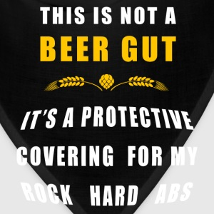 Beer - This Is Not A Beer Gut T-Shirts - Bandana