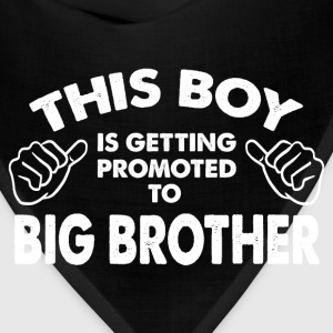 Family-This Boy Is Getting Promoted To Big Brother Kids' Shirts - Bandana