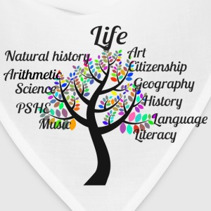 Education Tree Typography - Bandana