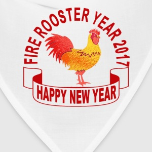 fire_rooster_year_2017_ - Bandana
