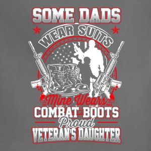 Veteran's daughter - Some dads wear suits - Adjustable Apron