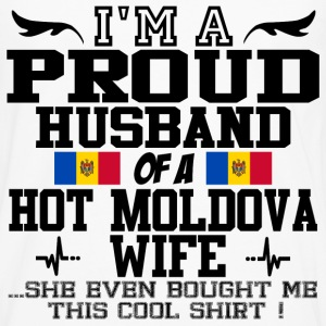 moldova wife 112.png T-Shirts - Men's Premium Long Sleeve T-Shirt