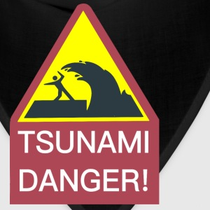 Tsunami Danger Sign - Bandana