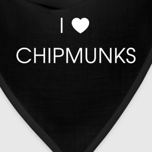 Chipmunks - I love Chipmunks - Bandana