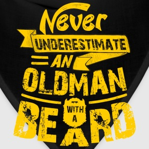 Oldman With a Beard T-Shirts - Bandana