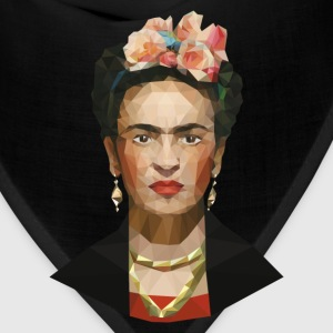Frida khalo women blue T-shirt - Bandana