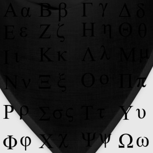 Greek Alphabet - Bandana