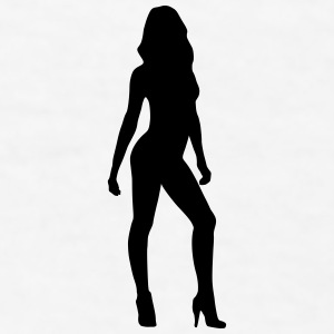 Sexy woman, model, girlfriend Sportswear - Men's T-Shirt