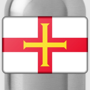 Flag of Guernsey (bevelled) - Water Bottle