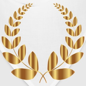 Gold Laurel Wreath 5 No Background - Bandana