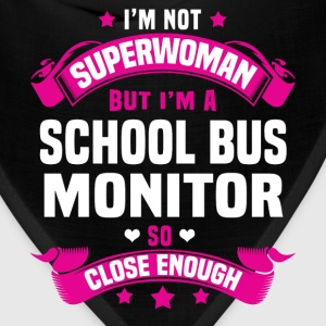 School Bus Monitor Tshirt - Bandana