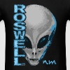 Roswell NM Grey Alien T-Shirts - Men's T-Shirt