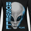 Roswell NM Grey Alien T-Shirts - Women's Premium Long Sleeve T-Shirt