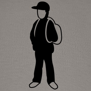 Simple schoolkid outline - Baseball Cap