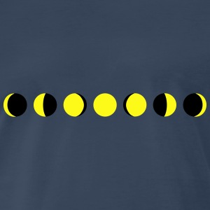 Moon, Phases of the moon Tanks - Men's Premium T-Shirt