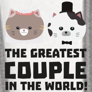 Greatest Cat Couple in the world Ud2n1 Phone & Tablet Cases - Contrast Hoodie