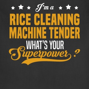 Rice Cleaning Machine Tender - Adjustable Apron