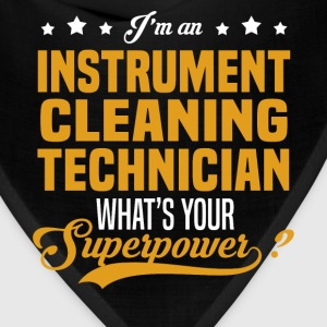 Instrument Cleaning Technician T-Shirts - Bandana