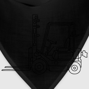 Fork-lift truck / stacker truck Kids' Shirts - Bandana