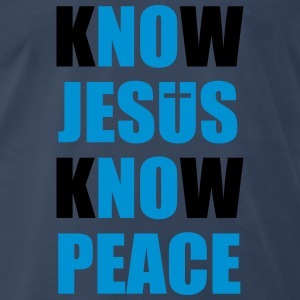Know Jesus Know Peace Sportswear - Men's Premium T-Shirt