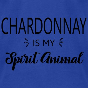 SS-5140 Chardonnay is my Spirit Animal Tanks - Men's T-Shirt by American Apparel