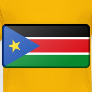 Flag of South Sudan (bevelled) - Toddler Premium T-Shirt
