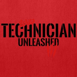 Wild technician unleashed Long Sleeve Shirts - Tote Bag