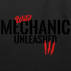 wild mechanic unleashed T-Shirts - Eco-Friendly Cotton Tote