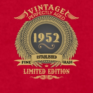 Vintage Perfectly Aged 1952 Limited Edition Mugs & Drinkware - Men's T-Shirt by American Apparel
