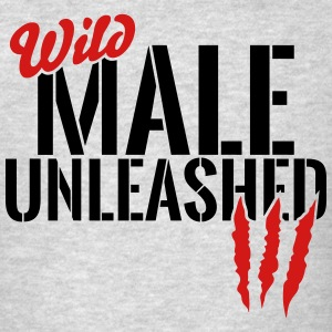 wild male unleashed Sportswear - Men's T-Shirt