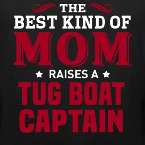Tug Boat Captain MOM - Men's Premium Tank