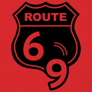 Route 66 Hell Highway 69 Bags & backpacks - Men's T-Shirt