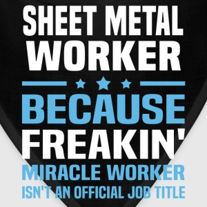 Sheet Metal Worker T-Shirts - Bandana