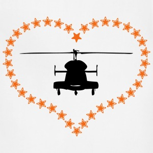 Heli heart asterisk - Adjustable Apron